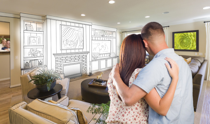 Clients Looking to Make a Major Renovation Which Would Almost Double the Value of their Home