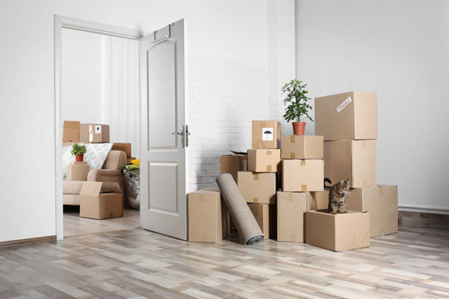You've finally moved in! What to do before you start unpacking.