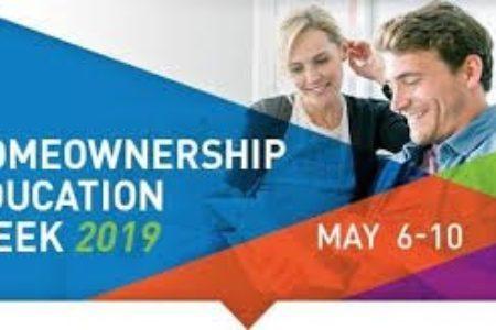 It's Homeownership Education Week 2019!